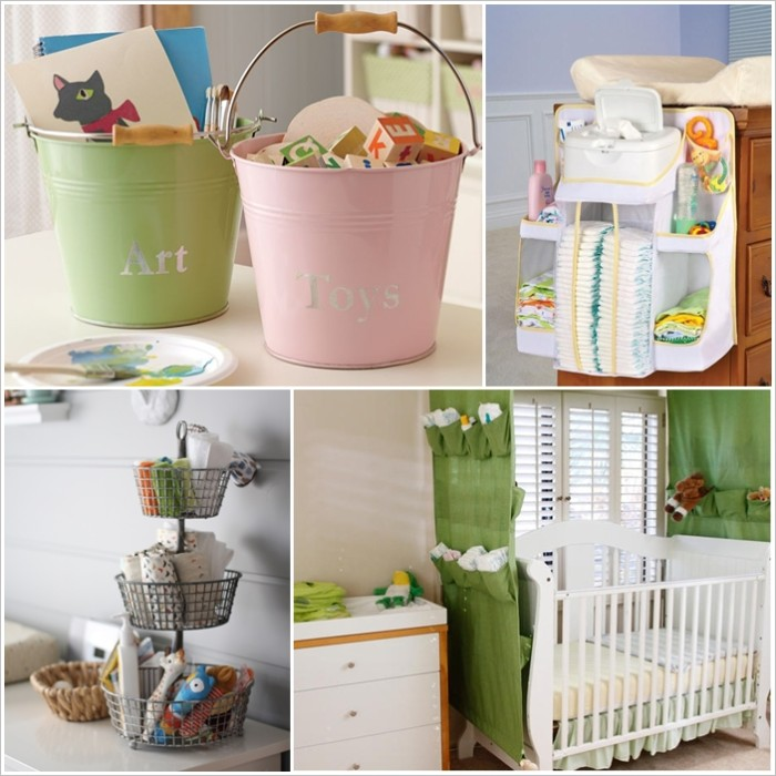 Beau 1 | A Crib With Built In Storage. 2 Image Via: Baby Nursery Themes
