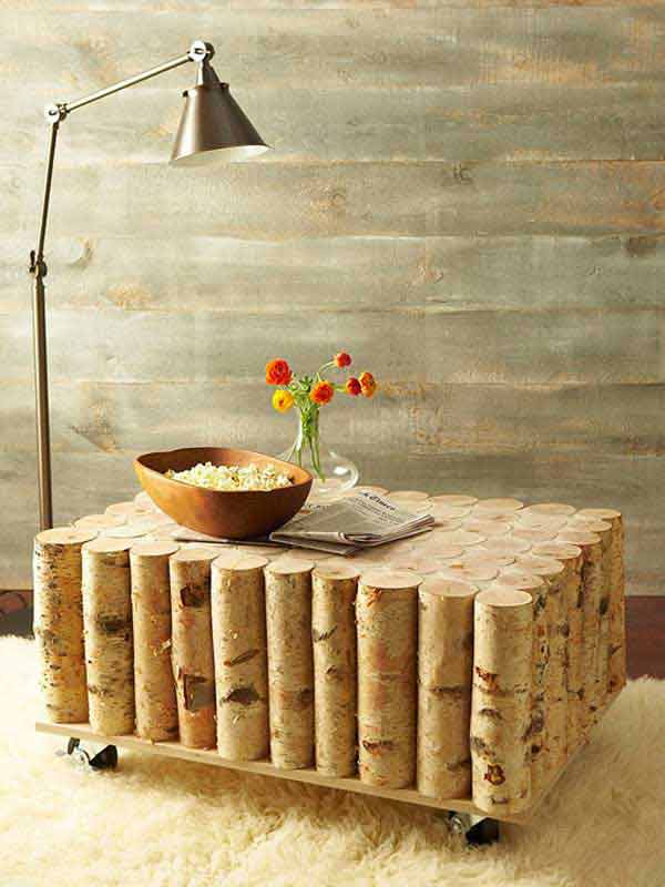 2-DIY-Birch-Tree-Log-Coffee-Table