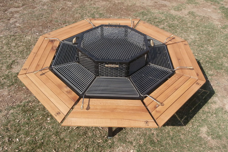 2 Jag Grill Table
