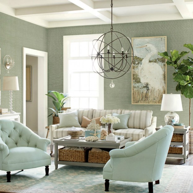 charming light green living room wall color | 36 Charming Living Room Ideas | Architecture & Design