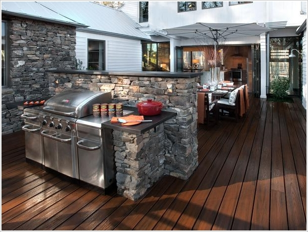 10 Amazing Outdoor Barbecue Kitchen Designs | Architecture ... on Exterior Grill Design id=60485