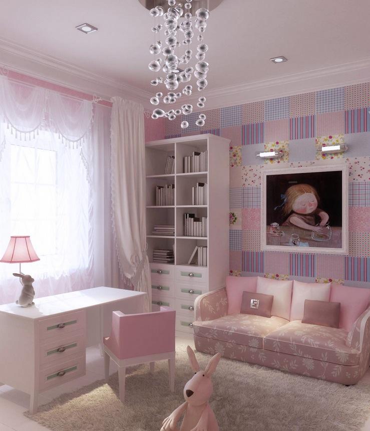 5 | Girly Home Office Design