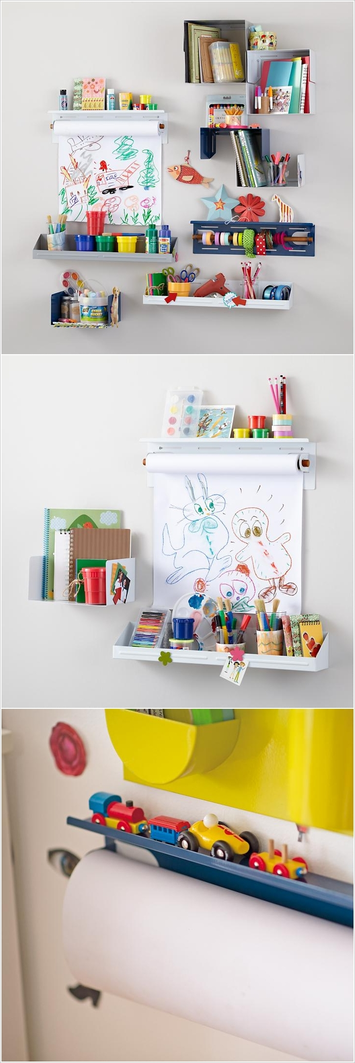 20 clever kids playroom organization hacks and ideas - Material para pintar paredes ...