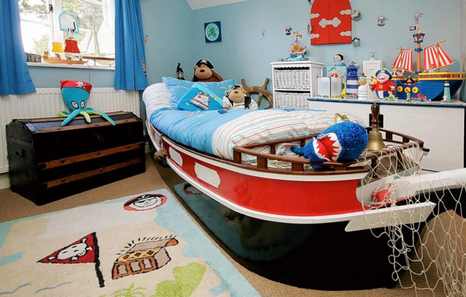 23-cool-teenage-bedroom-sail-theme