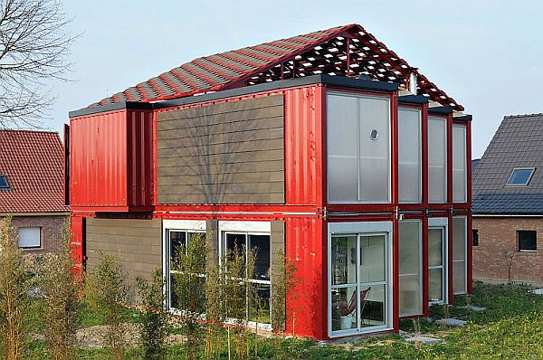 Houses Made Out Of Containers Simple 22 Most Beautiful Houses Made From Shipping Containers . Decorating Inspiration