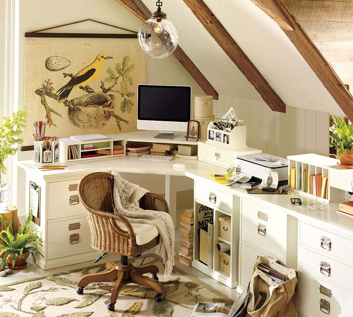 Elegant Good Thing About Home Offices Is That You Can Decorate The Place In Your  Style And The Way You Want , So Chose The Colors And Artwork That You  Admire And ...
