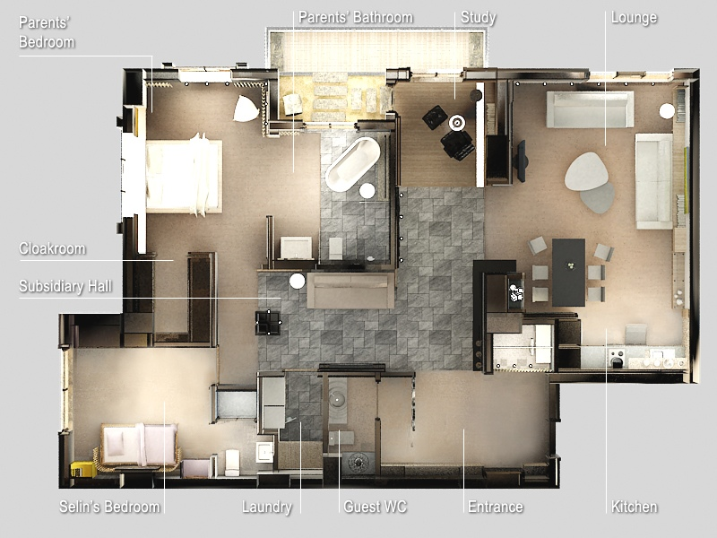 34-Zen-Two-Bedroom-Apartment