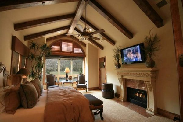 34-tv-above-the-fireplace-exposed-beams