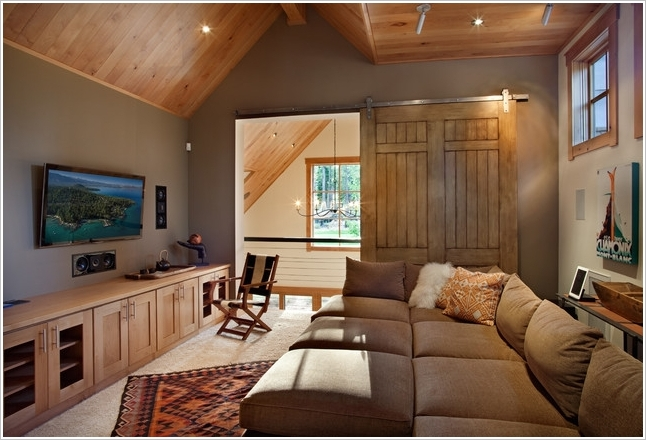 10 spectacular tv room designs that will make you inspired for Apartment design houzz