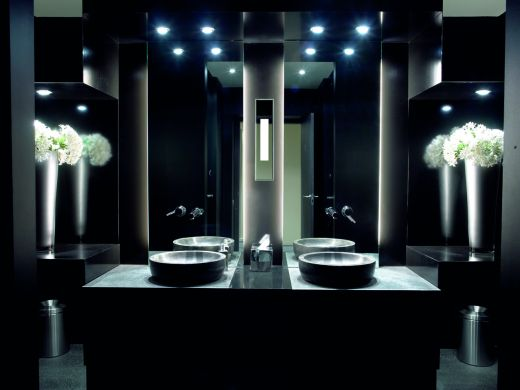 20 amazing bathroom lighting ideas architecture design the ideal lighting system for a stylish and modern bathroom mozeypictures Gallery