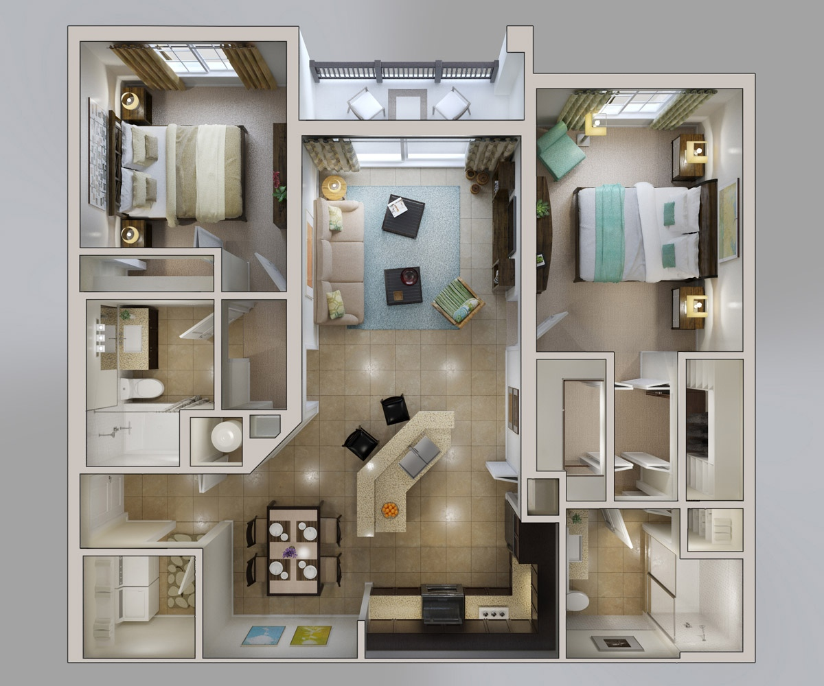 38 Bridges At Kendall Place Floor Plan