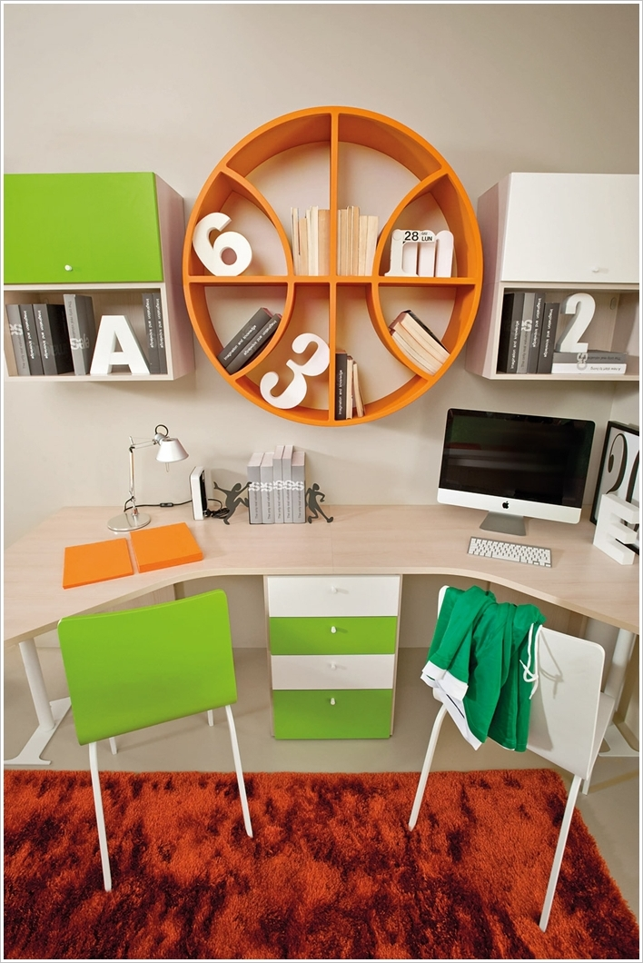 Best Study Room: 15 Creative And Cool Kids Bedroom Furniture Designs