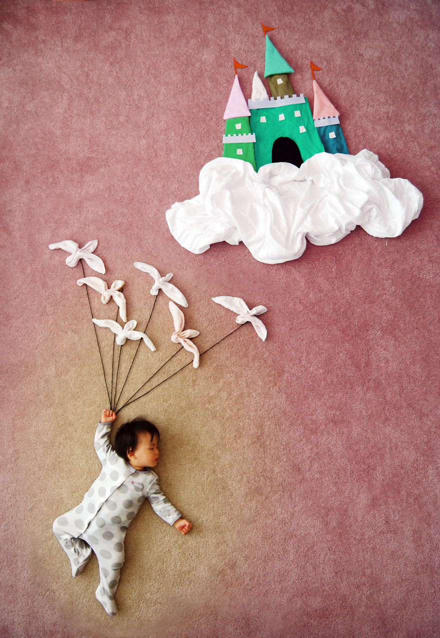 Creative Mom Turns Her Baby's Naptime Into Dream ...