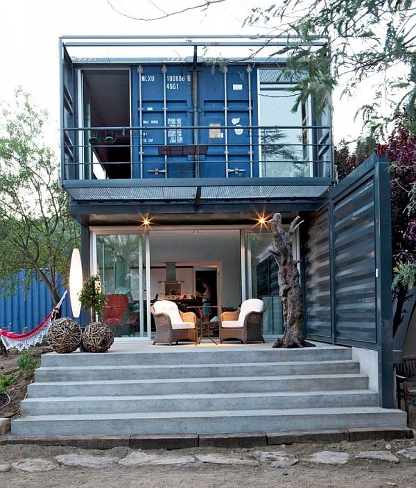 Houses Made Out Of Containers Entrancing 22 Most Beautiful Houses Made From Shipping Containers . Decorating Design