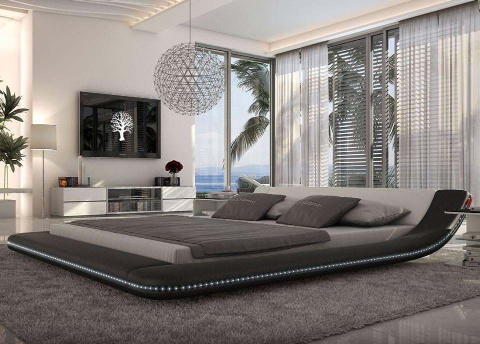 1 | Grey U0026 White With Horizontal Bed. U201c