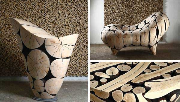 35 Diy Log Ideas Take Rustic Decor To Your Home