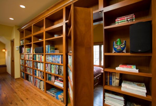 Incredible 14 Secret Bookcase Doors Always Fun And Always Mysterious Complete Home Design Collection Epsylindsey Bellcom
