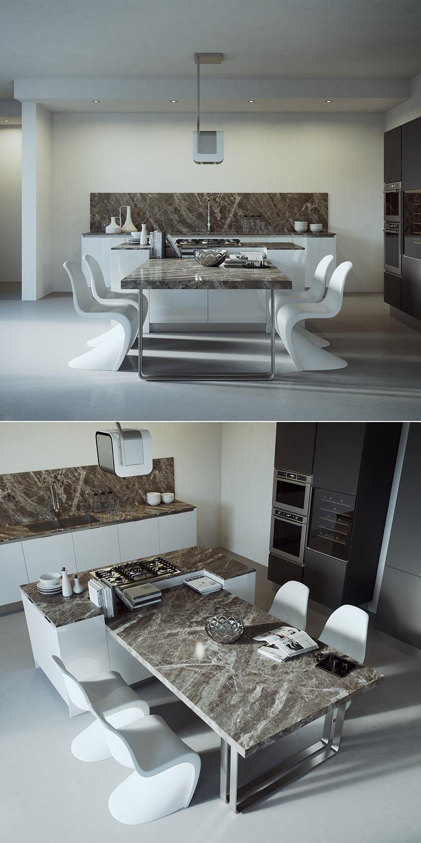 6-modern-kitchen-table