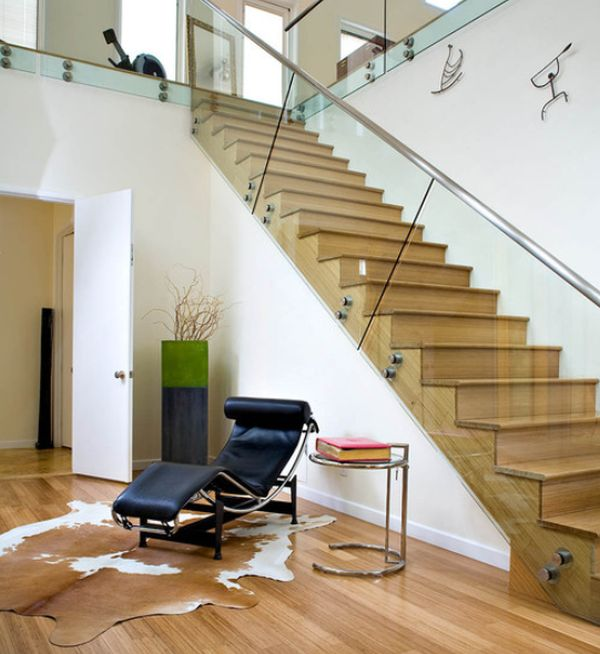 75 Most Popular Staircase Design Ideas For 2019: 20 Glass Staircase Wall Designs With A Graceful Impact On