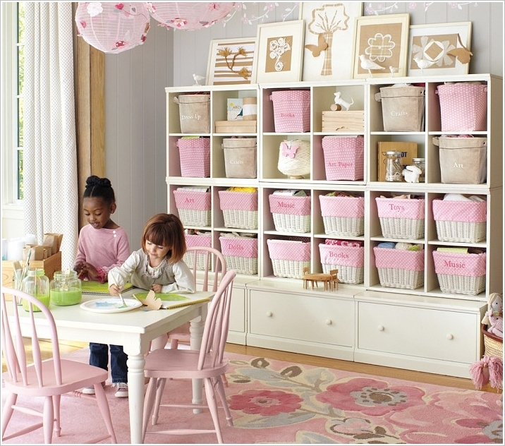 Kids Playroom Ideas For Girls Diy Toy Organization