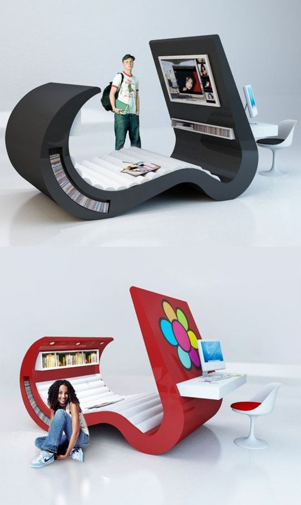 25 Cool Bedroom Designs To Dream About At Night on Teenage:rfnoincytf8= Room Designs  id=83633