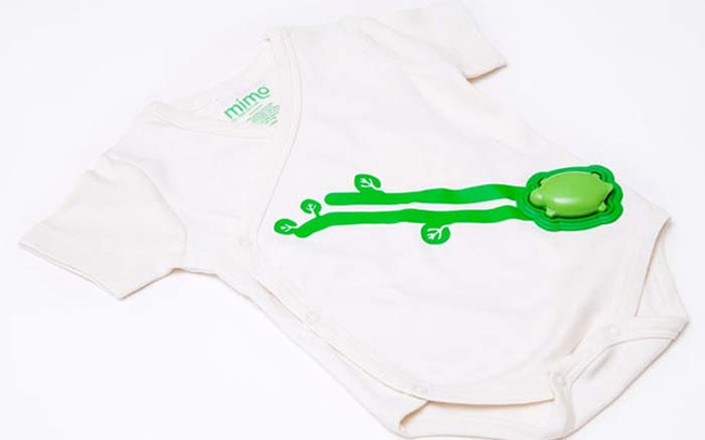 Onesie that monitors all your baby's vital signs, and streams the data to your smart phone.