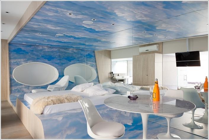 8 originali camere da letto in stile futuristico arredo idee - Camere da letto originali ...