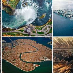30 Incredible Views You'd See If You Were A Bird
