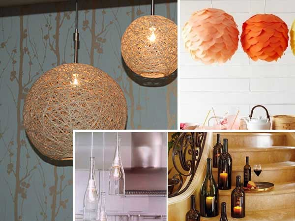 24 inspirational diy ideas to light your home for Home design diy ideas