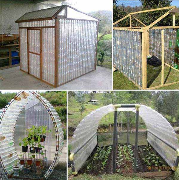 40 diy decorating ideas with recycled plastic bottles architecture design. Black Bedroom Furniture Sets. Home Design Ideas