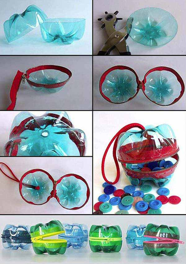 DIY Plastic Bottles ideas 17 40 DIY Decorating Ideas With Recycled