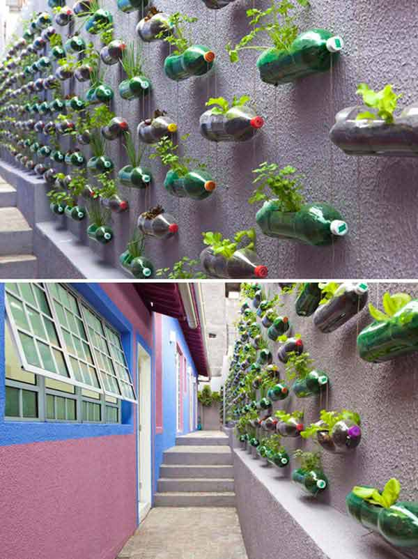 How To Make Plastic Bottles Decoration