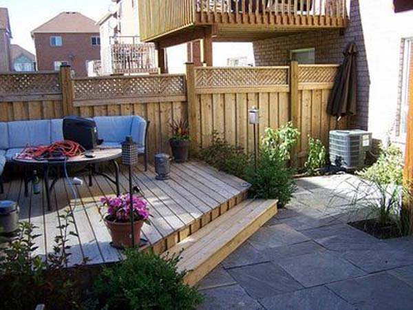 23 Small Backyard Ideas How to Make Them Look Spacious and ... on Small Outdoor Patio Ideas id=34305