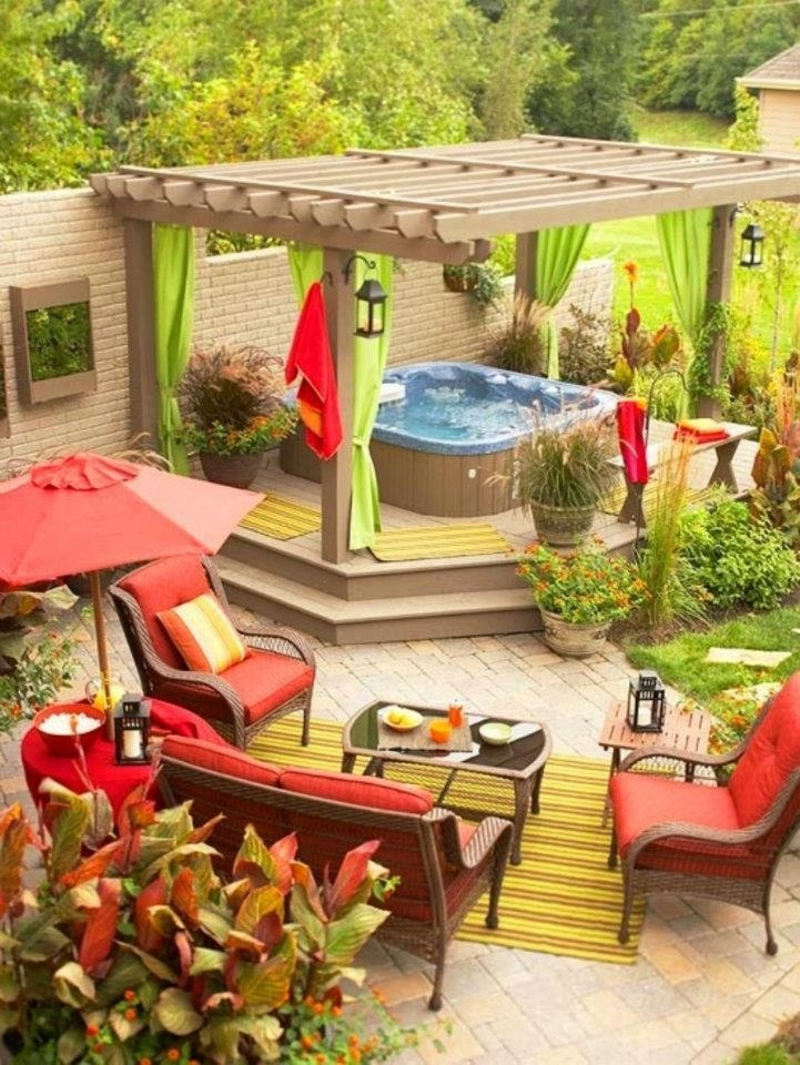 23 Small Backyard Ideas How to Make Them Look Spacious and ... on Small Outdoor Patio Ideas id=99347