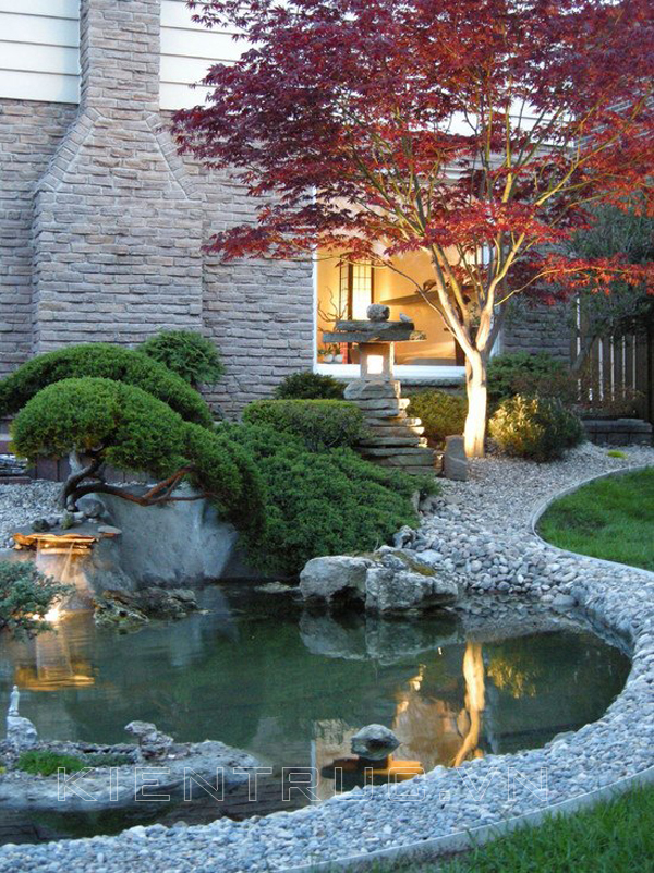 35 Impressive Backyard Ponds and Water Gardens ... on Backyard Garden Design id=98474