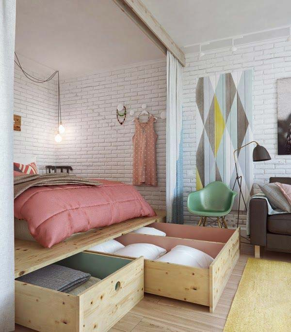 Tiny Bedroom 20 tiny bedroom hacks help you make the most of your space