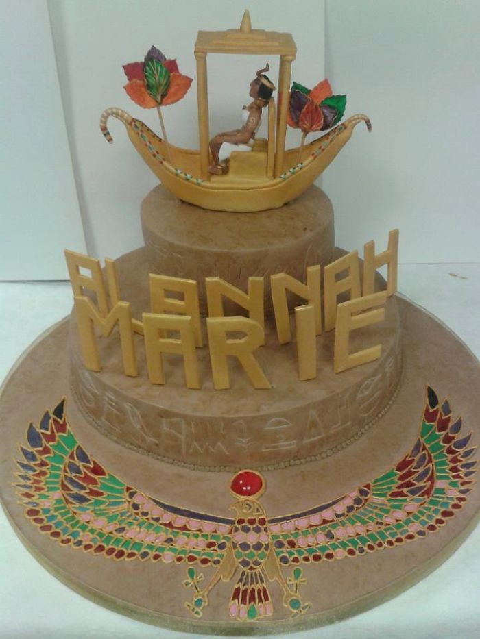Egyptian Birthday Cake Ideas