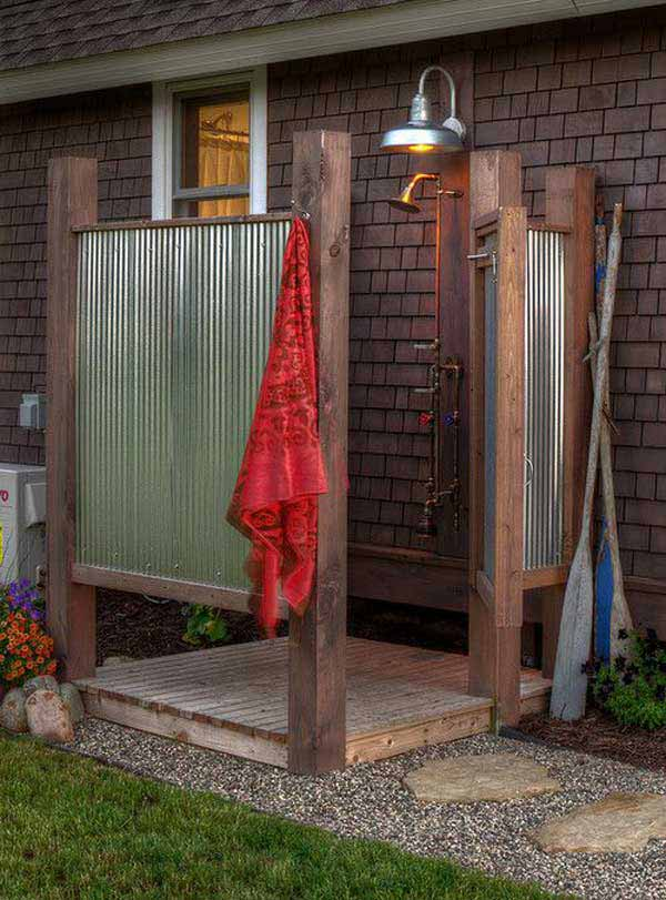 Outdoor Garten 30 cool outdoor showers to spice up your backyard architecture