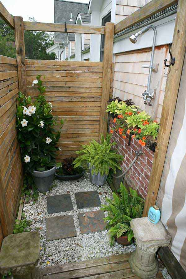 shower best outdoor projectnurture bathrooms pinterest showers images on bathtub