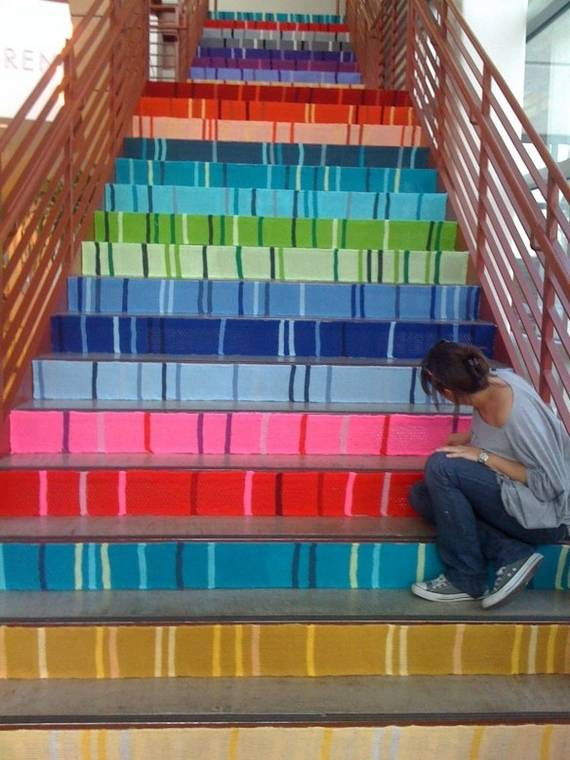 Home Stairs Decoration 20