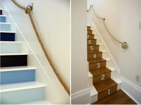 Beautiful Home Stairs Decoration 6