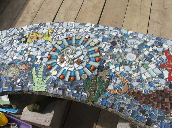 28 Stunning Mosaic Projects For Your Garden Architecture