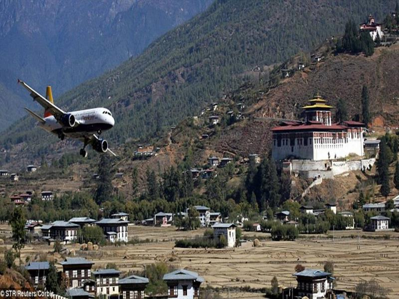10. Paro Airport, Bhutan