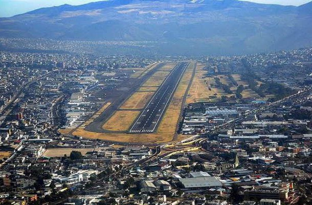 11. Old Mariscal Sucre International Airport, Ecuador