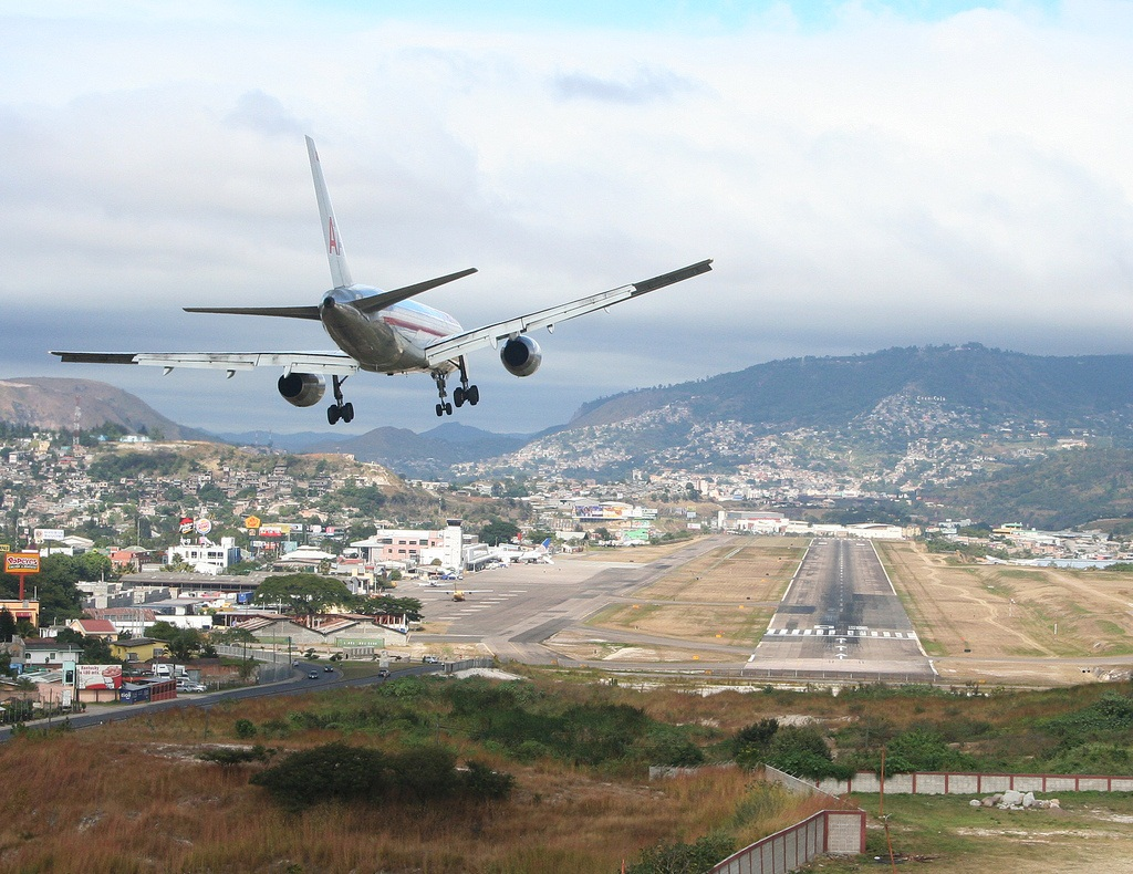 1. Toncontin International Airport, Honduras