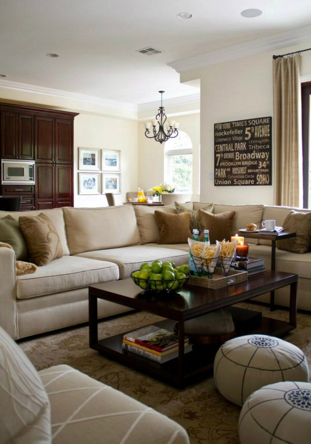 10 great ideas to help you add special touches to your family room architecture design - Family living room ideas ...