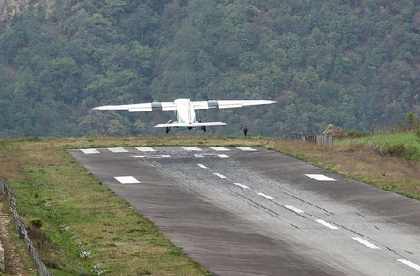 13. Lukla Airport, Nepal
