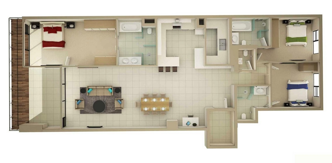 15-large-3-bedroom-floor-plans-for-home