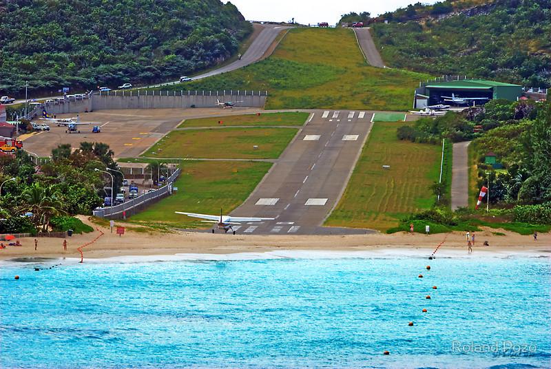 19. Gustaf III Airport, Saint Barthélemy
