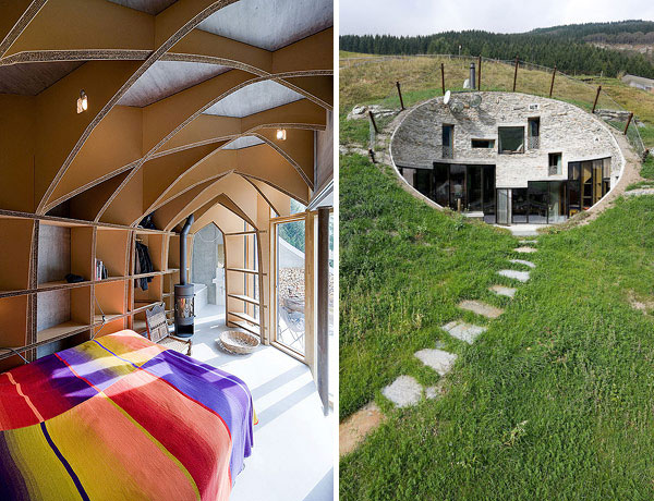 Charmant Home » 20 Underground Home Designs Swiss Mountain. ← Previous Next →